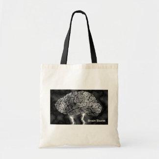 Brain Storm Tote Bag