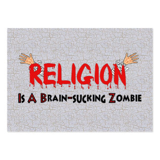 Brain-Sucking Zombie Business Cards