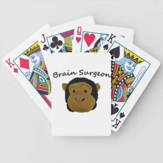 Brain Surgeon Bicycle Playing Cards