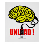 Brain to unload posters