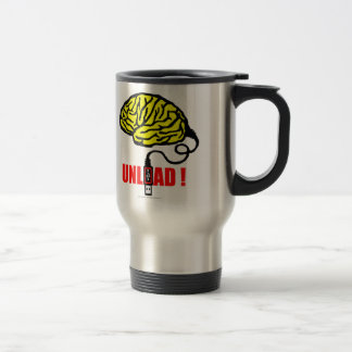 brain to unload travel mug