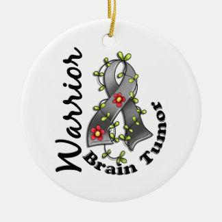 Brain Tumor Warrior 15 Christmas Ornament