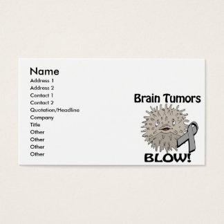Brain Tumors Blow Awareness Design
