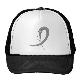 Brain Tumor's Grey Ribbon A4 Cap