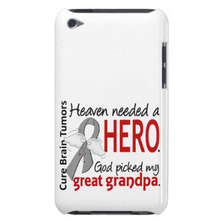 Brain Tumors Heaven Needed a Hero Great Grandpa Barely There iPod Case