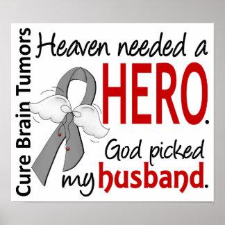 Brain Tumors Heaven Needed a Hero Husband Poster