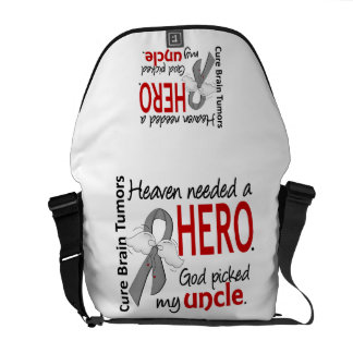 Brain Tumors Heaven Needed a Hero Uncle Commuter Bags