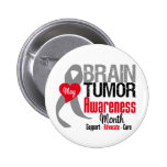 Brain Tumour Awareness Month Buttons