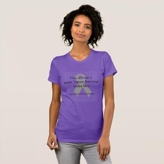 Brain Tumour Survivor T-Shirt