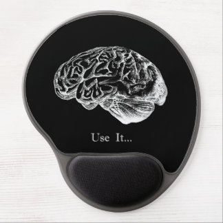 Brain - Use It Gel Mouse Pad