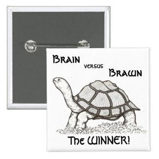 Brain vs. Brawn Badge