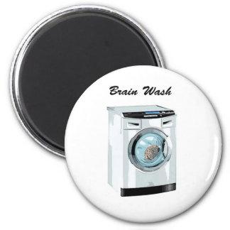 Brain Wash 6 Cm Round Magnet