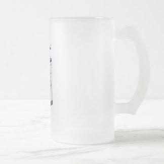 Brain Wash Frosted Glass Mug