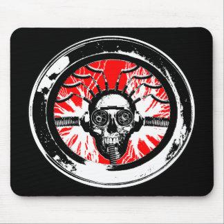 Brain wash wash wash round mouse pad