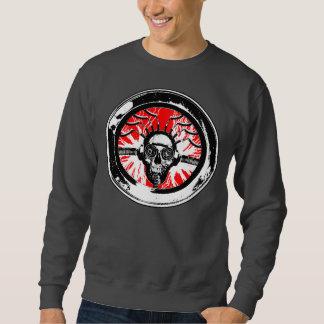 Brain wash wash wash round pullover sweatshirt