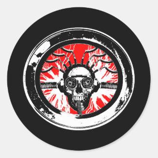 Brain wash wash wash round round sticker