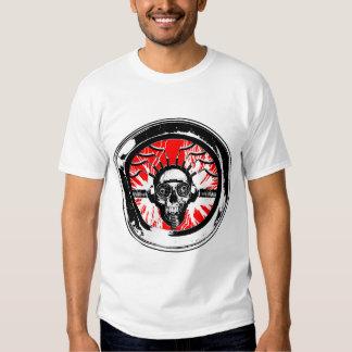 Brain wash wash wash round tee shirt