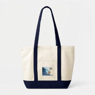 Brain Wave Tote Bag