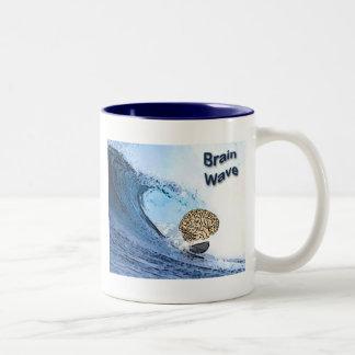 Brain Wave Two-Tone Coffee Mug