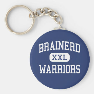 Brainerd - Warriors - High - Brainerd Minnesota Key Ring