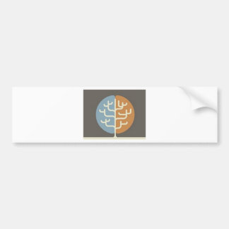 Brainfood Braintree Logo Bumper Sticker