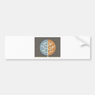 Brainfood Braintree Logo Bumper Stickers