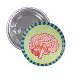 brainiac 3 cm round badge