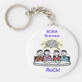Brainiac Key Ring Keychain