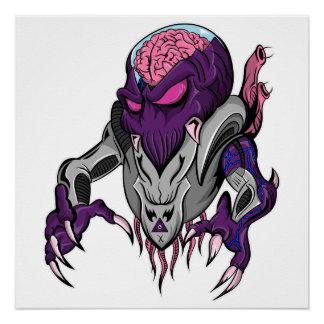 Brainiac Robotic Alien