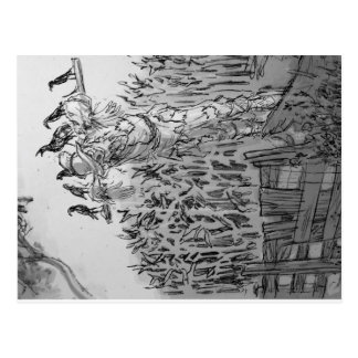 """Brainless"" Scarecrow. Postcard"