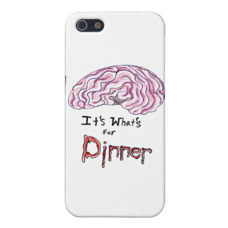 Brains for Dinner iPhone 5/5S Cases