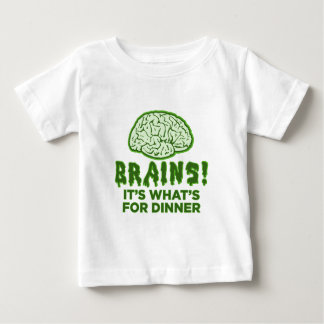 Brains, It's What's For Dinner Tees