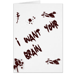 Brains¡¡ Note Card