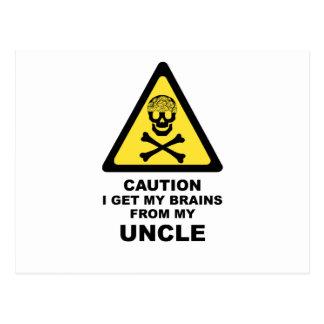 brains post card