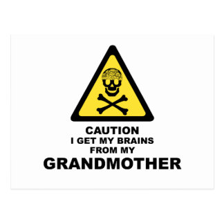 brains post cards