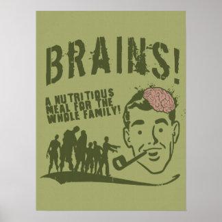 Brains! Poster