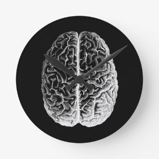 Brains! Round Clock