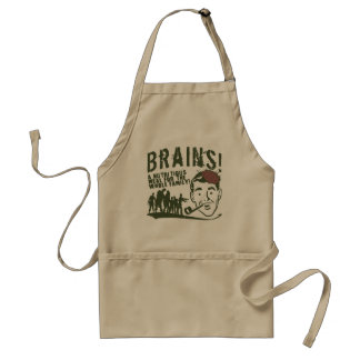 Brains! Standard Apron