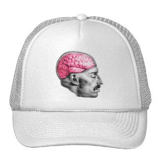 Brains Vintage Medical Illustration Trucker Hat