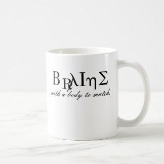 Brains with a body to match mug