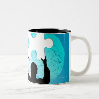 Brainstorming concept Two-Tone coffee mug