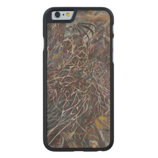 Brainwaves 2014 carved maple iPhone 6 case
