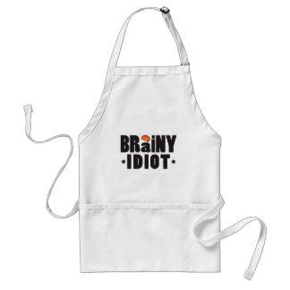 Brainy Idiot K Standard Apron