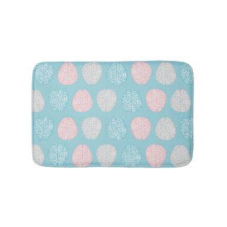 Brainy Pastel Pattern (Awesome Pastel Brains) Bath Mat