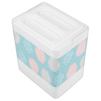 Brainy Pastel Pattern (Awesome Pastel Brains) Igloo Cooler