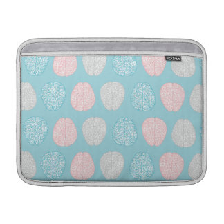 Brainy Pastel Pattern (Awesome Pastel Brains) Sleeve For MacBook Air