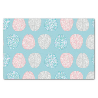 Brainy Pastel Pattern (Awesome Pastel Brains) Tissue Paper