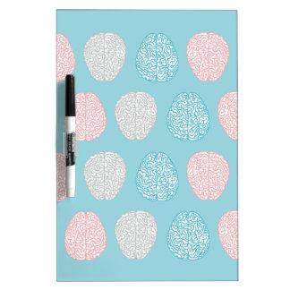 Brainy Pastel Pattern Dry Erase Board
