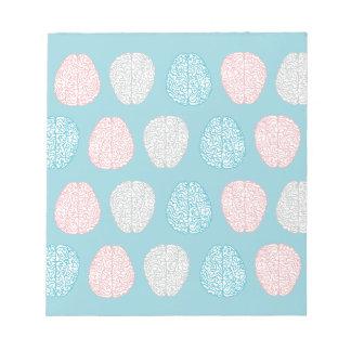 Brainy Pastel Pattern Notepad