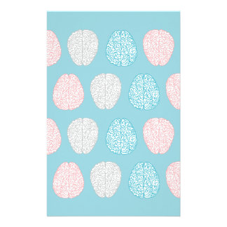Brainy Pastel Pattern Stationery